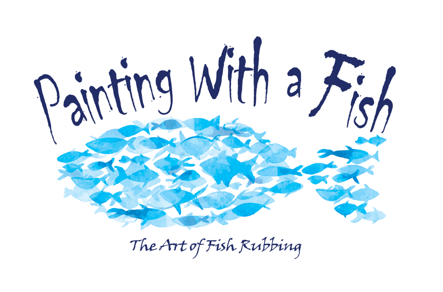 Painting with a Fish Logo